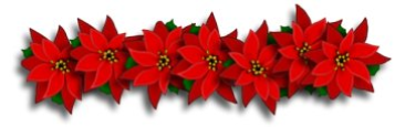 Poinsetta Garland